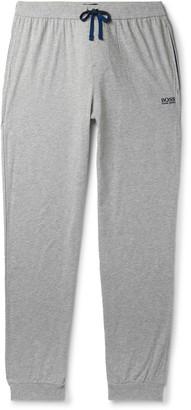HUGO BOSS Tapered Stretch-Cotton Jersey Sweatpants