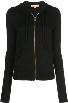 Michael Kors Studio 54 zipped hoodie