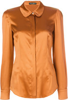 Dolce & Gabbana Peter Pan collar shirt - women - Silk/Spandex/Elastane - 40