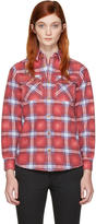 Visvim Red Check Elk Shirt