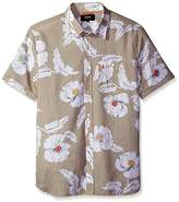 Jack Spade Men's Short Sleeve Flower Print