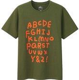 Uniqlo Men Sprz Ny Short Sleeve Graphic T-Shirt (Jason Polan)