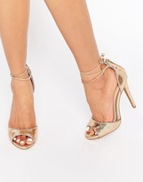 Ravel Ankle Tie Heeled Sandals