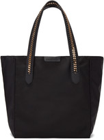 Stella McCartney Black Nylon Chained Tote