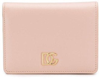 Dolce & Gabbana small Millennials crossed logo wallet