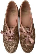 Kate Spade Pink Glitter Trainers