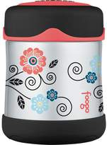 Thermos FOOGO Vacuum Insulated Stainless Steel 10-Ounce Food Jar, Pattern