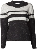 Michael Van Der Ham striped knit sweater