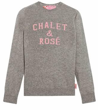 MC2 Saint Barth Chalet & Rose Grey Womans Sweater