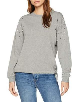 S'Oliver Women's 14.811.41.77 Sweatshirt, (Silver Grey Melange 9700), 10 (Size: )