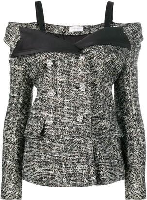 Faith Connexion Tweed Sailor Jacket