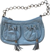 Givenchy Blue Leather Handbag