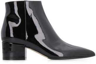 Sergio Rossi Sergio Patent Leather Ankle Boots