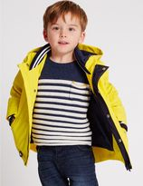 Marks and Spencer Fisherman Hooded Jacket with StormwearTM (3 Months - 5 Years)