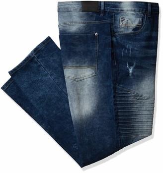 Southpole Men's Big & Tall Denim Pants