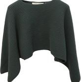 Lemaire X Uniqlo Green Wool Knitwear for Women