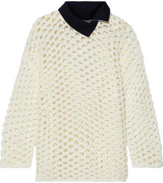 3.1 Phillip Lim Open-knit Wool Sweater