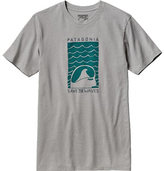 Patagonia Men's Save The Waves Sleep Stoked Cotton/Poly T-Shirt