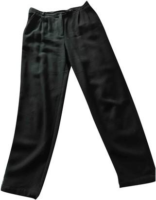 Des Petits Hauts Black Trousers for Women