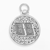 """Insignia Collection NASCAR Dale Earnhardt Jr. Sterling Silver """"88"""" Pendant"""