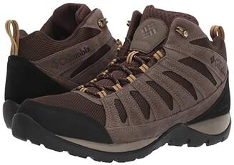 Columbia Redmondtm V2 Mid Waterproof (Graphite/Red Jasper) Men's Hiking Boots