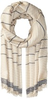 MICHAEL Michael Kors Pleated Metallic Yarn-Dyed Scarf Scarves