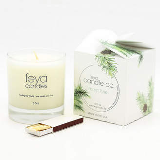 Asstd National Brand Feya Candle 6.5oz Forest Pine Soy Candle