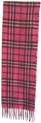 Burberry Pink Cashmere Scarves