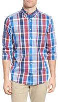 Gant Madras Plaid Fitted Sport Shirt