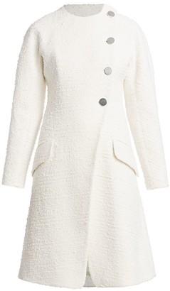 Proenza Schouler Tweed Turn Lock Coat