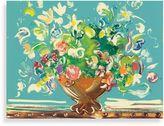 "Andrea Fono ""Botanical Turquoise"" Canvas Print"