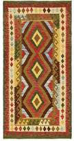 """3.1 Phillip Lim One-of-a-Kind Doorfield Hand-Knotted Runner 3'1"""" x 6'4"""" Wool Green/Red Area Rug Isabelline"""