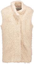 IRO Axy faux shearling vest