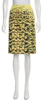 Mary Katrantzou Meadow Print Knee-Length Skirt