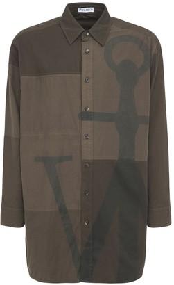 J.W.Anderson Oversized J Anchor Cotton Shirt