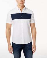 Michael Kors Men's Slim-Fit Colorblocked Shirt