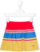 Rykiel Enfant - colour block striped skirt - kids - Cotton/Modal - 4 yrs
