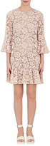 Valentino Women's Silk-Blend Lace Drop-Waist Dress