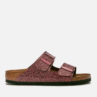 Birkenstock Women's Arizona Slim Fit Double Strap Sandals - Cosmic Sparkle Port