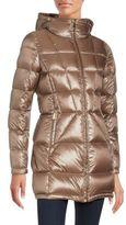 Calvin Klein Full Zip Puffer Coat