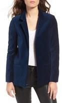 Zadig & Voltaire Women's Volly Velours Open Front Velvet Blazer