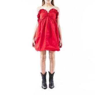 Philosophy di Lorenzo Serafini Taffeta Mini Dress
