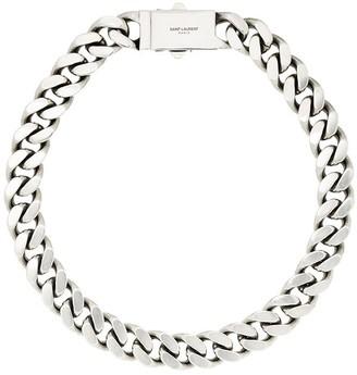 Saint Laurent Chunky Chain-Link Necklace