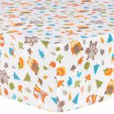 TREND LAB, LLC Trend Lab Woodsy Animals Flannel Crib Sheet