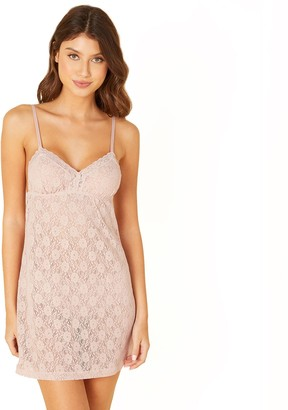 Cosabella Women's Amore Adore Sheer Lace Babydoll Chemise