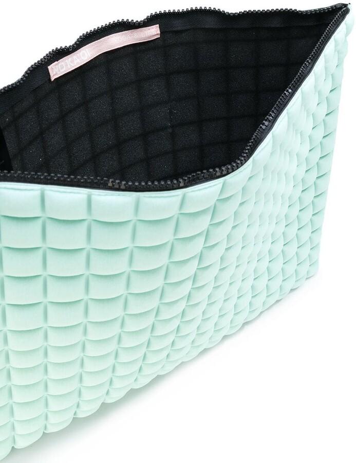 NO KA 'OI No Ka' Oi textured clutch bag