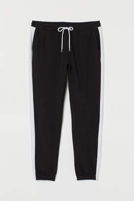 H&M H&M+ Side-stripe Sweatpants