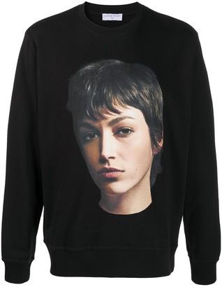 Ih Nom Uh Nit Graphic Print Cotton Sweatshirt