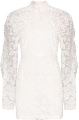 Rotate by Birger Christensen Kim high neck floral dress