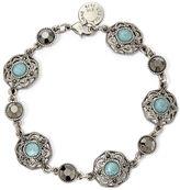 Liz Claiborne Blue Stone Flex Bracelet